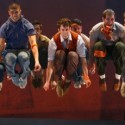 Airborne dancers in West Side Story courtesy Broadway in Chicago