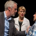 Philip R. Smith, left, with Beth Lacke and Eddie Martinez in Big Lake Big City by Keith Huff at Lookingglass Theatre credit Liz Lauren