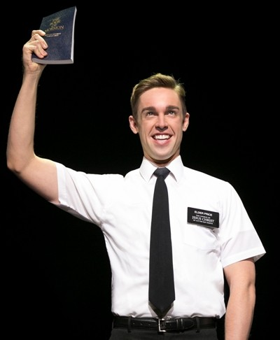 The Book of Mormon ChicagoANNE GAREFINO	SCOTT RUDINROGER BERLIND	SCOTT M. DELMAN	JEAN DOUMANIAN ROY FURMAN	IMPORTANT MUSICALS	STEPHANIE P. McCLELLAND KEVIN MORRIS	JON B. PLATT	SONIA FRIEDMAN PRODUCTIONSEXECUTIVE PRODUCER STUART THOMPSONPRESENTBOOK, MUSIC AND LYRICS BYTREY PARKER, ROBERT LOPEZ AND MATT STONEWITHNIC ROULEAU	BEN PLATT SYESHA MERCADO	PIERCE CASSEDY	JAMES VINCENT MEREDITHCHRISTOPHER SHYER	DAVID ARON DAMANE J. CASEY BARRETT	TALLIA BRINSON	ROB COLLETTI	PATRICE COVINGTON CAMILLE EANGA-SELENGE	JAKE EMMERLING	MIKE EVARISTE DONELL JAMES FOREMAN	BRADLEY D. GALE	ERIC GIANCOLA	DARIUS HARPER ERIC HUFFMAN	COREY HUMMERSTON	ERIC JACKSON	EMILY JENDA NICK LAUGHLIN	STEPHEN MARK LUKAS	PARIS ALEXANDER NESBITTMONICA L. PATTONSCENIC DESIGNSCOTT PASKHAIR DESIGNJOSH MARQUETTEDANCE MUSIC ARRANGEMENTSGLEN KELLYTOUR BOOKING AGENCYTHE BOOKING GROUP/ MEREDITH BLAIRJOHN PINTO JR.	JON-MICHAEL REESETRAVIS ROBERTSONSOUND DESIGNBRIAN RONANPRODUCTION STAGE MANAGERGLYNN DAVID TURNERASSOCIATE PRODUCERELI BUSHGENERAL MANAGEMENTSTP/DAVID TURNER12 PLAYBILLCESSALEE STOVALLCOSTUME DESIGNANN ROTHORCHESTRATIONSLARRY HOCHMAN & STEPHEN OREMUSMUSIC DIRECTORJOHN SAMORIANPRESS AND MARKETINGALLIED LIVEHARDY WEAVERLIGHTING DESIGNBRIAN MacDEVITT CASTINGCARRIE GARDNERMUSIC COORDINATORMICHAEL KELLERPRODUCTION MANAGEMENTAURORA PRODUCTIONSMUSIC SUPERVISION AND VOCAL ARRANGEMENTSSTEPHEN OREMUSCHOREOGRAPHED BYCASEY NICHOLAWDIRECTED BYCASEY NICHOLAW AND TREY PARKERcast(in order of appearance)Mormon.......................................................................................................................Hardy Weaver Moroni ...................................................................................................................... Pierce Cassedy Elder Price..................................................................................................................... Nic Rouleau Elder Cunningham ..............................................................................................................Ben Platt Missionary Voice.................................................................................................. Christopher Shyer Price?s Dad ........................................................................................................... Christopher Shyer Cunningham?s Dad................................................................................................... J. Casey Barrett Mrs. Brown ............................................................................................................Monica L. Patton Guards...................................................................................................Darius Harper, Eric Jackson Mafala ......................................................................................................... James Vincent Meredith Nabulungi................................................................................................................Syesha Mercado Elder McKinley ......................................................................................................... Pierce Cassedy Joseph Smith ........................................................................................................ Christopher Shyer General..............................................................................................................David Aron Damane Mission President................................................................................................. Christopher Shyer Ensemble..............................J. Casey Barrett, Tallia Brinson, Patrice Covington, Jake Emmerling,Mike Evariste, Donell James Foreman, Bradley D. Gale, Darius Harper, Eric Huffman, Corey Hummerston, Eric Jackson, Monica L. Patton, John Pinto Jr., Jon-Michael Reese, Cessalee Stovall, Hardy WeaverUnderstUdiesFor Elder Price: Bradley D. Gale For Elder Cunningham: Nick Laughlin For Mafala Hatimbi: Mike Evariste, Eric Jackson For Nabulungi: Tallia Brinson, Camille Eanga-Selenge For McKinley/Moroni: Eric Huffman, Hardy Weaver For Price?s Dad/Joseph Smith/ Missionary President/et al: J. Casey Barrett, Hardy Weaver For General: Mike Evariste, Eric JacksonStandby for Elder Price: STEPHEN MARK LUKAS Standby for Elder Cunningham: RoB CoLLETTIswingsCAMILLE EANGA-SELENGE, ERIC GIANCoLA, EMILy JENDA, NICK LAUGHLIN, PARIS ALExANDER NESBITT, TRAVIS RoBERTSoNDance Captain: Eric Giancola Assistant Dance Captain: Travis Robertson