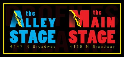 Profile Theatre presents its plays at two venues, Alley Stage and Main Stage.