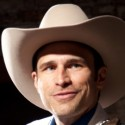 Matthew Brumlow as Hank Williams in 'Lost Highway' at American Blues Theater (Johnny Knight)