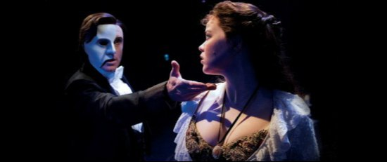 Earl Carpenter and Katie Hall in The Phantom of the Opera - UK Tour (Alastair Muir)