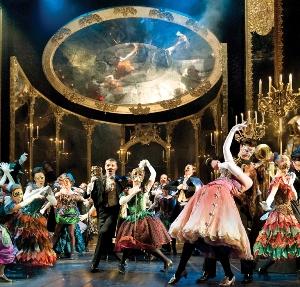 Masquerade scene from 'The Phantom of the Opera' (UK tour)