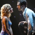 Katie Postotnik and Steven Grant Douglas play   lovers distanced by death in a national tour of 'Ghost The Musical' at the Oriental Theatre. (Joan Marcus)