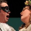 Leander (Nicholas Pulikowski) and Leonora (Katy Compton) fall in love at first sight in Carl Nielsen's opera 'Maskarade.' (Brandon Hayes photo)