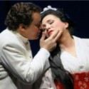 Stefano Secco, Patricia Racette, Madam Butterfly at Lyric Opera Chicago Jan. 2014 (c. Dan Rest)