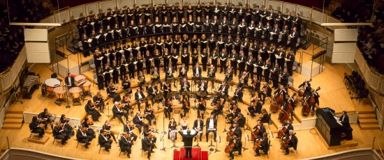 Riccardo Muti leads the Chicago Symphony Orchestra and Chorus in Schubert's Mass in A-flat. (Todd Rosenberg)