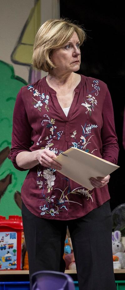 Mary Beth Fisher as Caroline in Rebecca Gilman's 'Luna Gale' at Goodman Theatre. (Liz Lauren)