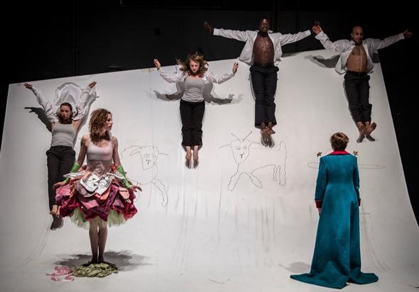 'The Little Prince' by Antoine de Saint-Exupery, adapted by  Rick Cummins and John Scoullar, at Lookingglass Theatre. (Liz Lauren)