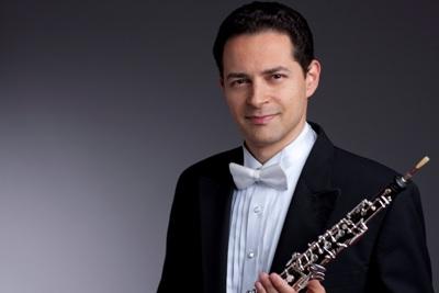 Chicago Symphony Orchestra principal oboe Eugene Izotov (Todd Rosenberg)