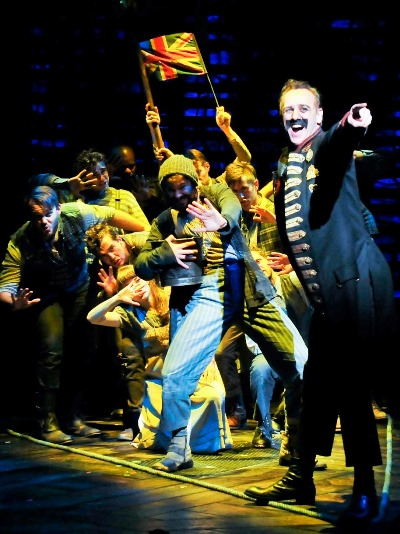 John Sanders plays the would-be pirate king Black Stache in 'Peter and the Starcatcher.' (Broadway in Chicago)