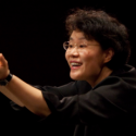 Mei-Ann Chen, music director of the Chicago Sinfonietta, was guest conductor of the Sarasota Orchestra.
