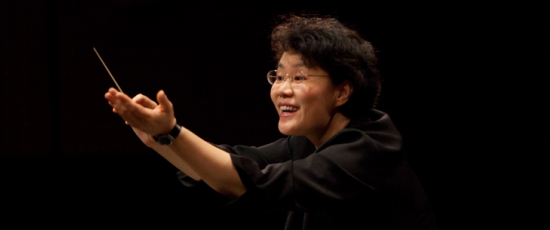 Mei-Ann Chen, music director of the Chicago Sinfonietta, was guest conductor of the Sarasota Orchestra. (Meiannchen.com)