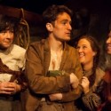 The rural rascal Christy (Sam Hubbard) draws the village girls in 'Playboy of the Western World' at Raven Theatre. (Keith Claunch)