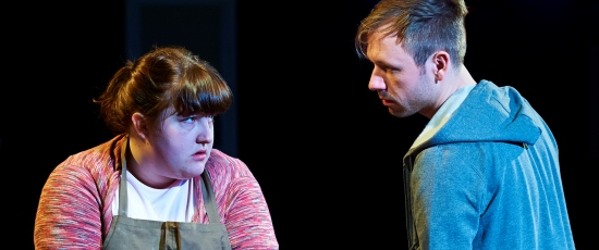 Anna (Caitlin Looney) listens to some straight talk from her uncle Terry (Shane Kenyon). (Lee Miller)