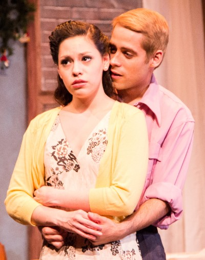 Catherine (Assyette Muñoz) and Rodolpho (Tommy Rivera-Vega) take to each other quickly. (Joel Maisonet)