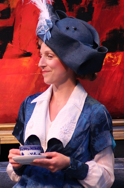 Cristina Panfilio as Gwendolen in 'The Importance of Being Earnest.' (Carissa Dixon)