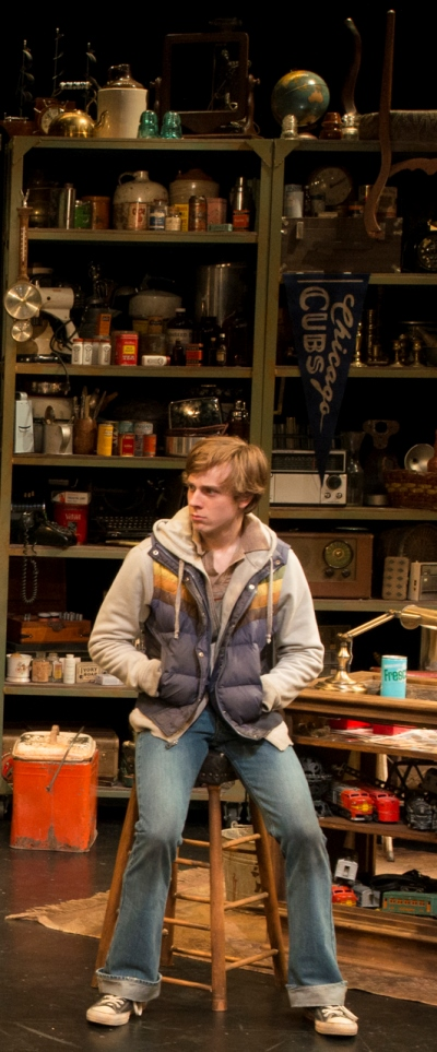 Brendan Meyer is the kid following the dubious lead of two losers in Mamet's 'American Buffalo.' (Zane Williams)