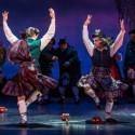 Clan dancers in 'Brigadoon' at Goodman Theatre 2014 (Liz Lauren)