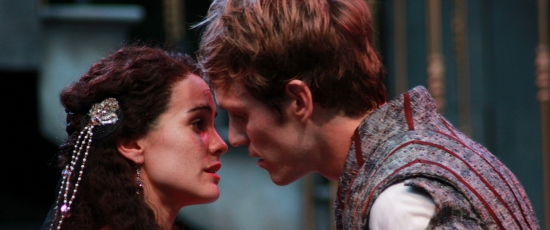 It's love at first sight for Juliet (Melisa Pereyra) and her Romeo (Christopher Sheard). (Carissa Dixon)
