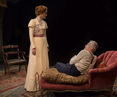 Shannon Cochran as Alice and Larry Yando as Edgar in 'The Dance of Death' at Writers Theatre. (Michael Brosilow)