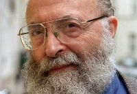Chaim Potok, author of the novel 'My Name Is Asher Lev,' which has been adapted into a play by Aaron Posner.