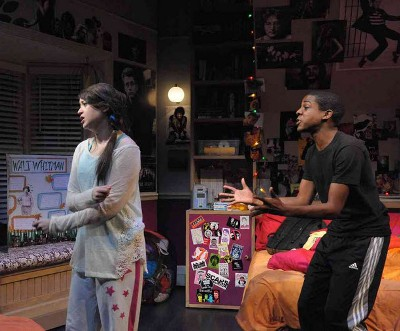 In Olney, Maryland, actors Rachel Tice and Thaddeus Fitzpartrick have a go at 'I and You,' currently enjoying a series of regional premieres in the U.S.