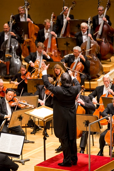 Conductor Riccardo Muti led works by Debussy and Tchaikovsky. (Todd Rosenberg)