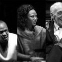 Ensemble members, from left, Francis Guinan ('The Nigh, K. Todd Freeman, Alana Arenas, John Mahoney and Tim Hopper. Photo courtesy of Steppenwolf Theatre