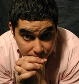 Kristoffer Diaz, author of 'The Upstairs Concierge.'