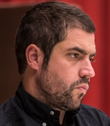 Playwright Noah Haidle, author of 'Smokefall.'