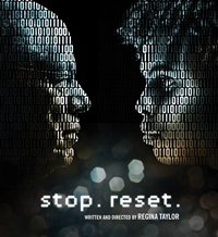 Playwright-director Regina Taylor's 'stop.reset.' explores a changed world of books.
