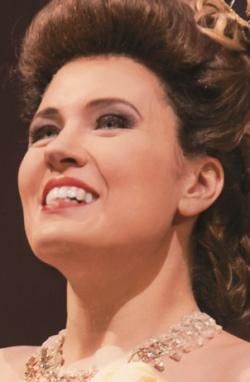 Marina Rebeka sings the role of Donna Anna. (Todd Rosenberg/Lyric Opera)