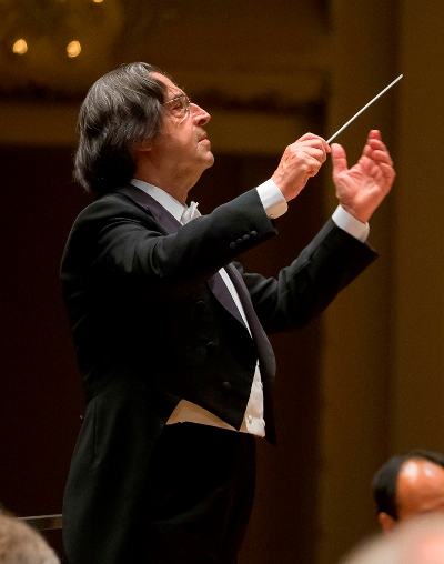 Riccardo Muti, music director of the Chicago Symphony Orchestra. (Todd Rosenberg)