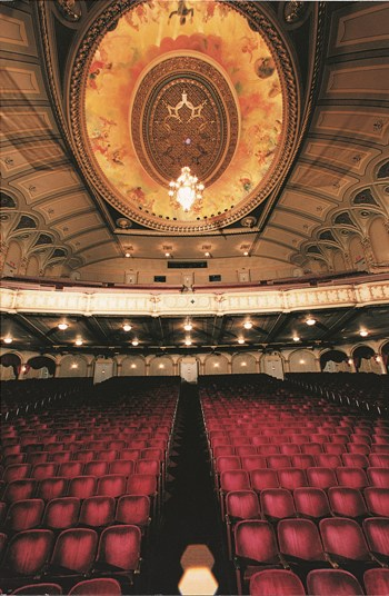 The Orpheum Theatre, a former vaudeville house with excellent acoustics, is home to the Vancouver Symphony Orchestra.