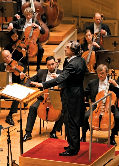 The potential for a simpatico relationship with music director Riccardo Muti was one of the factors in choosing a president to succeed Deborah Rutter.