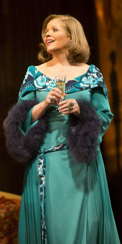 Renee Fleming as Countess Madeleine in 'Strauss' 'Capriccio' at Lyric Opera of Chicago (Todd Rosenberg)