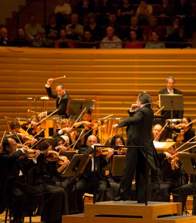 The Chicago Symphony under Riccardo Muti brought Tchaikovsky's Symphony No. 4 to a rousing conclusion at the Salle Pleyel in Paris. (Todd Rosenberg)