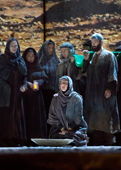 'The Death of Klinghoffer' is structured around choruses evoking ocean, desert, night, day and the songs of exiled Palestinians and exiled Jews. (Ken Howard)