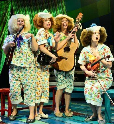 Kate Carson-Groner, from left, Christine Stulik, Emily Casey and Lauren Vogel in 'H.M.S. Pinafore.' (Evan Hanover)