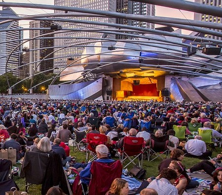 A Chicago Symphony Orchestra concert at Millennium Park is one of 125 free events planned for 2015-16. (Todd Rosenberg)