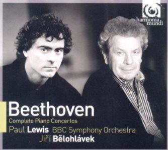 Cover of Harmonia Mundi's complete Beethoven concertos.