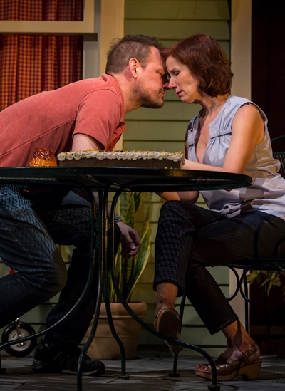 Don (Mark L. Montgomery) and Gwen (Karen Janes Woditsch) live life in low gear. (Liz Lauren)
