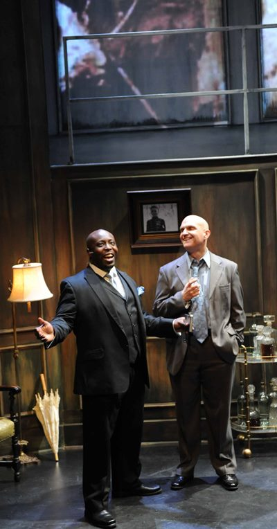 James Earl Jones II and Stephen Rader are 'Waiting for the Girls Upstairs.' (Brandon Dahlquist)
