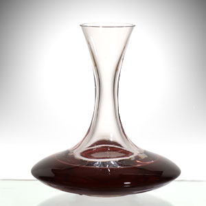 Aeration in a decanter brings out the best in any wine.