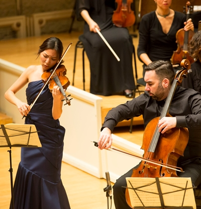 CSO colleagues Stephanie Jeong and Kenneth Olsen were spotlighted. (Todd Rosenberg)