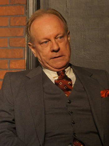 Brian Parry portrays the investor-narrator who sensed the crash coming and got out of the market in time. (Tommy Lee Johnston)