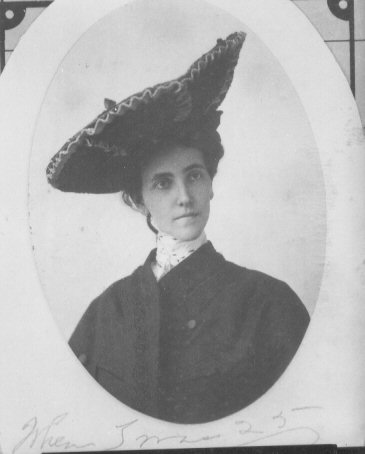Clarissa Northington in her youth. (Wharton County Historical Museum)