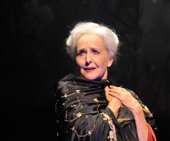 Among the new roles that Frederica von Stade has created on the opera stage is Myrtle Bledsoe, the troubled 90-year-old grande dame of small town Egypt, Texas. (Kelly & Massa)