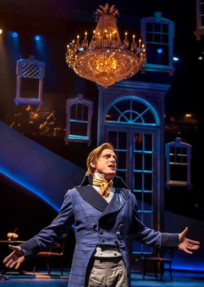Colonel Brandon (Sean Allan Krill) muses about being on the 'Wrong Side of Five & Thirty' in Chicago Shakespeare's 'Sense and Sensibility' 2015. (Liz Lauren)